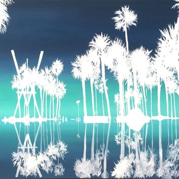 Acrylic Painting- Palms- SOLD