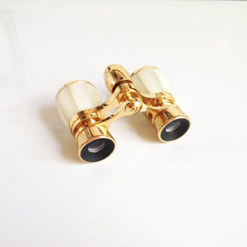 Vintage Opera Glasses / Mother of Pearl Binoculars