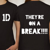 "One Direction ""They're on a Break!!"" T-Shirt"