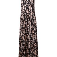 Thakoon Addition open back printed dress