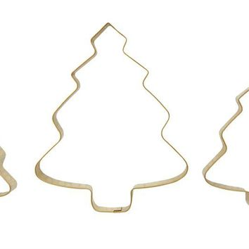 Stainless Steel Tree Cookie Cutters