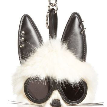 Stella McCartney Rabbit Faux Fur Bag Charm | Nordstrom