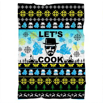 Breaking Bad Christmas Blanket