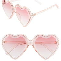 Rad + Refined Heart Sunglasses | Nordstrom