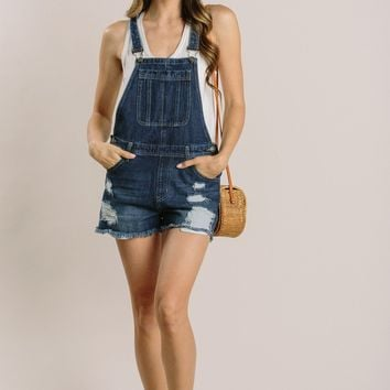Cathy Denim Overalls