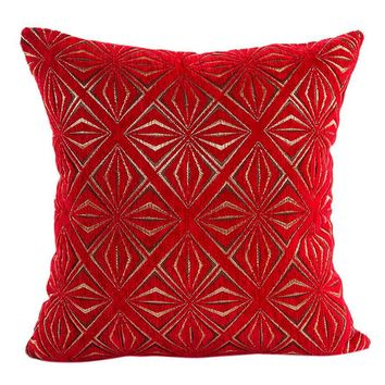 luxury decorative throw pillow solid color pillow case vintage pillowcase for the pillow 45*45