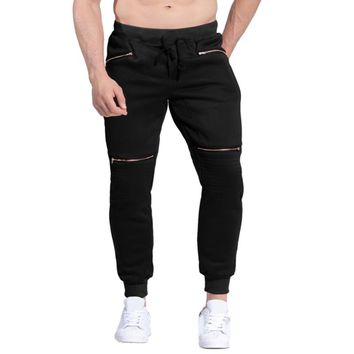 Mens Joggers Thick Velvet Sweatpants Casual Winter Warm Fleece Liner Padded Long Track Pants Male Tracksuit Trousers Plus Size