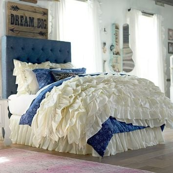 Junk Gypsy Blue Jean Headboard