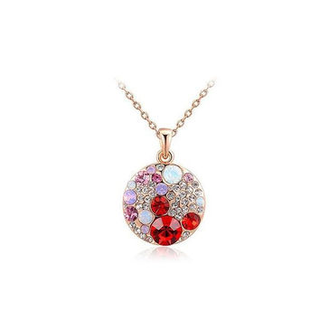 New Arrival Shiny Gift Stylish Korean Jewelry Necklace [9281918020]