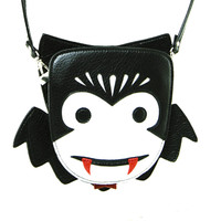 Cute Little Spooky Vampire Dracula Bag Purse
