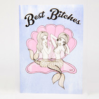 Best Bitches Greeting Card