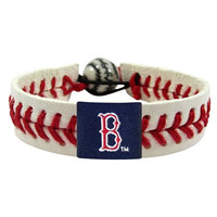MLB Boston Red Sox Classic Baseball Bracelet