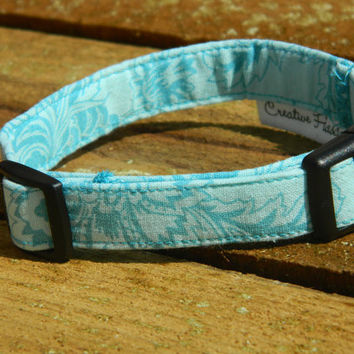 Large/ XL French Connection Dog Collar by CreativeFiasco on Etsy