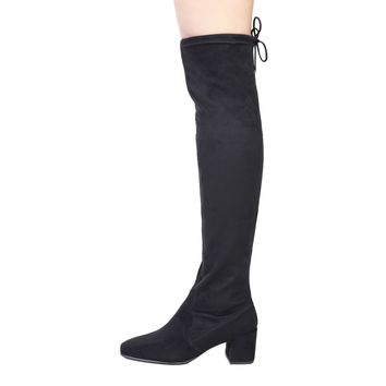 F/W Fontana 2.0 SELLY Knee high black stretch