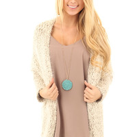 Mocha Cuddle Up Cardigan