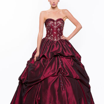 PRIMA Glitz GZ1455 Ball Gown Prom Dress - Quinceanera