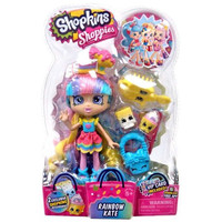 Shopkins Shoppies Rainbow Kate Doll Figure