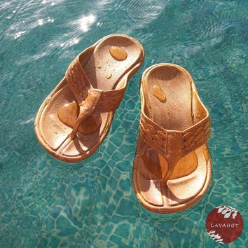 Brown Shaka™ - Pali Hawaii Thong Sandals