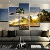 Aerial Dirt Bike Canvas Set