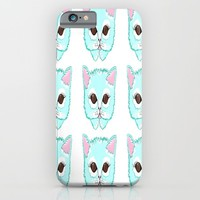 Miss Kitty iPhone & iPod Case by Kathleen Sartoris
