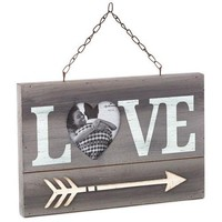 Hallmark Love and Heart-Shaped Photo Picture Frame