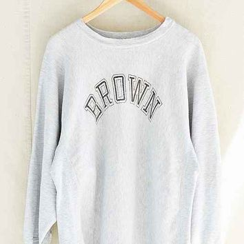 Vintage Champion Brown University Sweatshirt