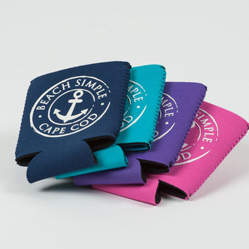 Anchored Collection Koozie - Navy