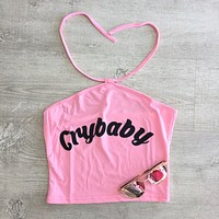 Cry Baby Crop Tank