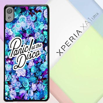Panic At The Disco Flower X4351 Sony Xperia XA1 Ultra Case