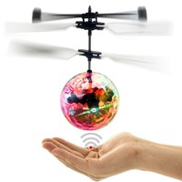 Drone Ball-Shaped LED Lighting Flying Hand Toy