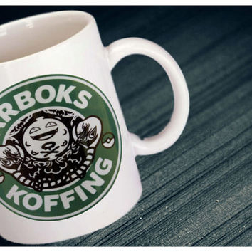 Arboks Koffing Pokemon Starbucks Parody Coffee Mug
