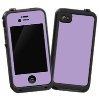 "Lavendar ""Protective Decal Skin"" for LifeProof iPhone 4/4s Case"