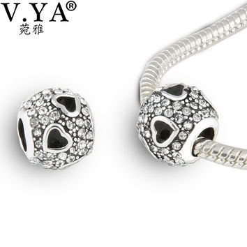 Big Hole Women Men DIY Loose Bead Animal Charm Bead fit for Pandora Original Bracelet Necklace Chain Z057