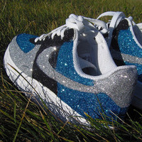 Nike Air Force 1 Hand painted Glitter Sneakers