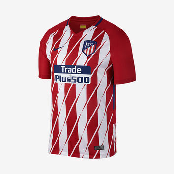 Atletico Madrid 2017-18 Home Jersey
