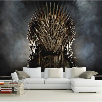 Game of Thrones Wallpaper Iron Throne Wall Murals Custom Photo Wallpaper