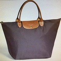 LONGCHAMP PLIAGES SMALL HANDBAG MYRTILLE