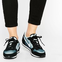 Nike | Nike Genicco Fade Black & White Trainers at ASOS