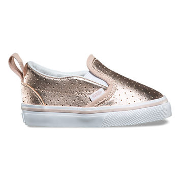 Toddler Perf Leather Slip-On V | Shop At Vans