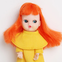 Vintage 60s MOD My Toy Co. Doll Red Head