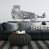 Leopard Wall Decals Vinyl Sticker Room Decal Nursery Bedroom Home Decor Window Interior Design Art For Car Murals Ah149