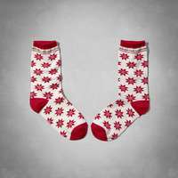 Christmas Patterned Socks