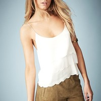 Kate Moss for Topshop Scalloped Camisole (Online Only)
