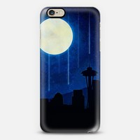 Seattle at Night iPhone 6 case by Noonday Design | Casetify