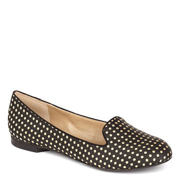 Arturo Chiang Beatrixx Dotted Hair Calf Loafers