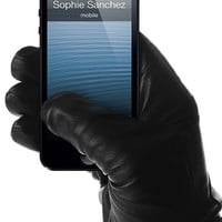 Leather Touchscreen Gloves, winter gloves for touch screens e.g. iPhone and Galaxy by Mujjo
