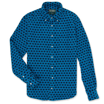 Portuguese Flannel Dot Teal