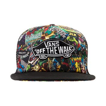 Vans Classic Patch Marvel Collage Hat, Multi  Journeys Shoes