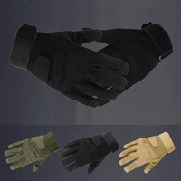 Outdoor Sports Full finger Military Tactical Airsoft Hunting Cycling Gloves BF D_L = 1713115460