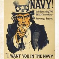 "New ""I Want You"" Fine U.S. Navy Military Art Print Home Wall Decor 694197"